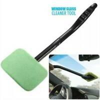 Car Windscreen Long Reach Microfiber Glass Cleaner & Shine Cloth Demister Pad