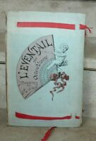 Octave Uzanne - L'éventail, dessins de Paul Avril, ed quantin 1882
