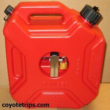 Fuel Can, Gas Can, 5 liters, 1.3 gallons, Motorcycle, ATV -- LOCKABLE --