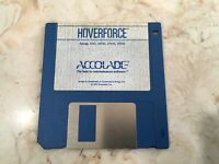 VINTAGE GAME FOR COMMODORE AMIGA COMPUTER - HOVERFORCE BY ACCOLADE