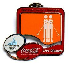 Pin Spilla Olimpiadi Torino 2006 Coca Cola – Discesa Libera Di Abbracci