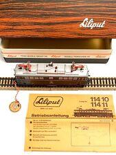 Liliput 114 10 (2 rail) HO AC model OBB Lok 1042 504 Electric Locomotive w/Box