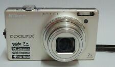 "Nikon COOLPIX S6000 Digital Camera 14.2MP 2.7"" 7x OZ 2x DZ Good Condition"