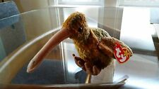 'Beak' the Kiwi Bird - Ty Beanie Baby - MINT - RETIRED