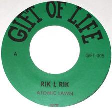 Punk  New Wave 45: Rik L Rik - Atomic Lawn EP  - LISTEN