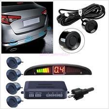 4 Parking Sensor Reversing Radar Kit Wireless Reverse LED Display Buzzer Alarm