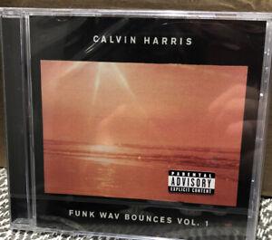 Calvin Harris - Funk Wav Bounces Vol1 New Sealed Cd Free Post U.K.