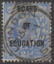 GREAT BRITAIN -  OFFICIALS Board of Education: 1902-04 2½d - 97077