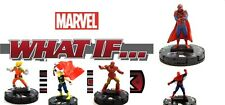 Heroclix Marvel What If? #025 TV'S SPIDER-MAN, 012 CHASE STEIN, 005, 002, 001