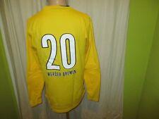 Werder Bremen Original Nike Torwart Junior Matchworn Trikot 2009/10 + Nr.20 Gr.M