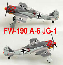 "Easy Model 1/72 Germany FW-190 A-6 2./JG1 ""Black 3"" 1943 #36403"