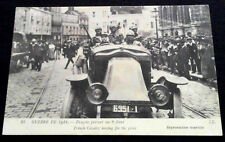 Carte photo 1914-1918 Dragons partant sur le Front WW1 French Dragoons postcard