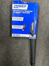 Power Fit Pressure Washer Trigger Handle 3300 Max PSI Connection