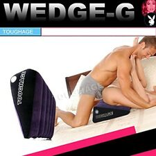Toughage Brand Amazing Sex Pillow Triangle Wedge Soft Inflatable Portable
