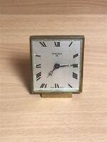 Vintage SWIZA 8 Day Alarm Clock - Swiss Made - Working Stunning Retro Classic