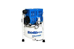 Bambi PT15 Quiet Oil Free Air Compressor