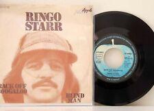 "Ringo Starr      Back of Boogaloo  /   Blind Man        7""      VG++  # B"