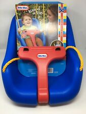 New Little Tikes 2-In-1 Snug And Secure Swing - Blue 50 Lbs Capacity