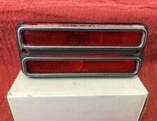 OEM 1968-72 Chevy GMC Truck Blazer Red Side Marker Light Turn Signal Patina