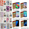 For Samsung Galaxy S, A, J Series Butterfly Vector Print Flip Case Phone Cover