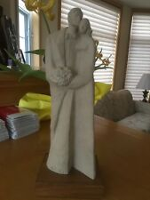 "Male & Female Statue. 15 ""Inches High. By Leclere."