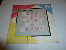 "THE TEMPTATIONS - Treat Her Like A Lady - 1980 UK 2-track 7"" vinyl single"