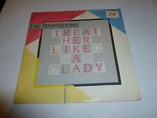 "Les tentations-Treat Her Like A Lady - 1980 UK 2-track 7"" vinyl single"