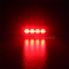 4 LED Strobe Flash Warning beacon Light Amber White Blue Red Green 12V 24V 36V
