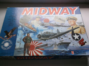 Midway Naval Battle Boardgame Avalon Hill 1992