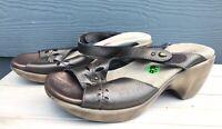 Naot Women's Metallic Slide Wedge Sandals Size US 8 / EU 39