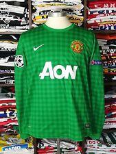 MANCHESTER UNITED gk 2012/13 shirt - DE GEA #1 -Spain-Goalkeeper-Atletico-Jersey