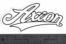 AXION SHOES VINTAGE RETRO SKATEBOARD STICKER Old School Kareem Cambell Decal