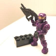 Mega Bloks Halo Series 2 Purple UNSC Spartan Chase Figure