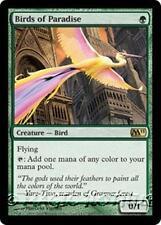 BIRDS OF PARADISE M11 Magic 2011 MTG Green Creature — Bird RARE