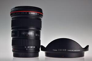 Near MINT Canon EF 16-35mm f/2.8L USM