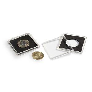 10 Lighthouse Square Coin Capsule Quadrum Size 25 28 29 41mm 50p 2 pound bullion