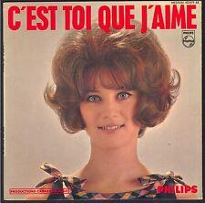 SHEILA 45T EP 9ème disque C'est toi que j'aime PHILIPS 437.079