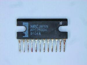 """UPC2500H  """"Original"""" NEC  12P SIP IC  1  pc"""
