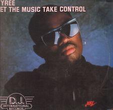 TYREE Deje que The Broad mix Music Tomar Control 1990 D.J. Internacional DJ 998