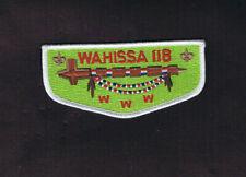 118 Wahissa OA Flap WHT Brd GRN Bkg BRN FDL 700924