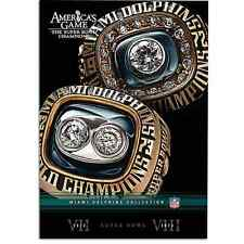 MIAMI DOLPHINS  AMERICAS GAME   NFL DVD  super bowl - posted  from UK