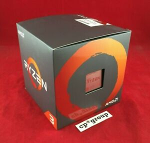 NEW Factory Sealed AMD Ryzen 3 1200 3.1GHz 4-Core CPU + Heatsink YD1200BBAFBOX