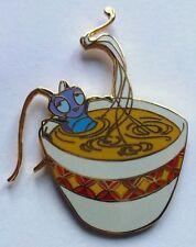 Disney Pin Badge  Mulan Crickee in a cup