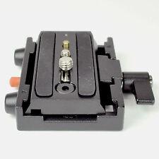 577 adaptador de liberación rápida y cámara compatible con los sistemas de Trípode Manfrotto Placa