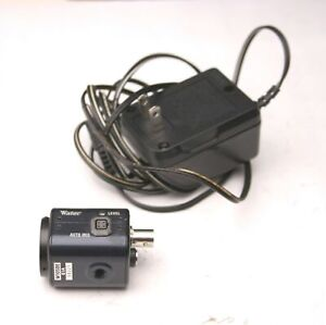 "Watec WAT-902H2 Supreme Monochrome Analog Camera Machine Vision CCIR, 1/2"" CCD"