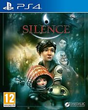 Silence [PlayStation 4 PS4, Region Free, Adventure Fantasy Video Game] Brand NEW