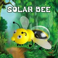 Educational Solar Powered Bee Robot Solar Funny Animal Gadget Toy E6A4