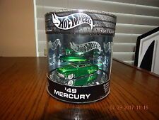HOT WHEELS OIL CAN - CUSTOM CRUISER SERIES - 1949 '49 MERCURY CUSTOM - 1/64 1:64
