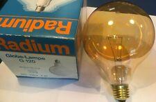 RADIUM Globelampe G80 E27 230V 100W Eiskristall klar Glühlampe NEU Ambiente Lux
