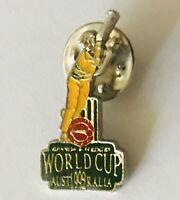 Cricket World Cup Bowling Benson & Hedges 1999 Australia Pin Badge Rare (C16)